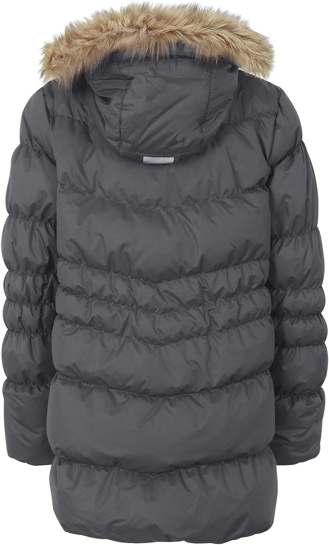 grey children Ticket to Heaven Castlerock girls down jacket with removable hood children 152 inches