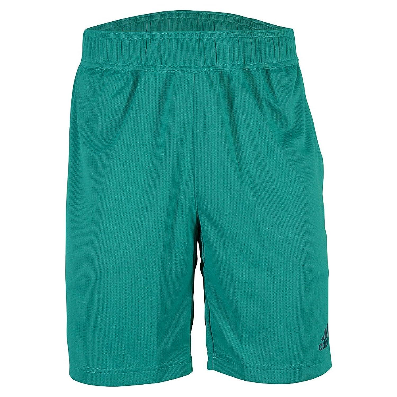 AdidasメンズストレッチClimachillショーツ B01A95FPK0EQT Green 3L