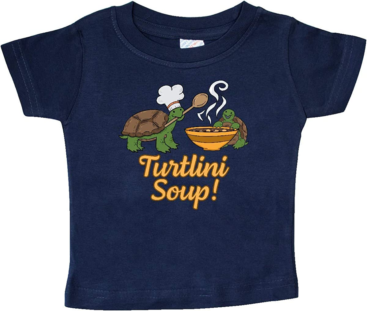 inktastic Turtlini Soup with Cute Turtle Chefs Baby T-Shirt