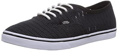 0760f6fb8d2 Vans Authentic Lo Pro Women US 5.5 Black Skate Shoe
