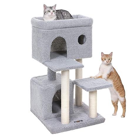 Amazon.com: FEANDREA Árbol de gato, torre de gato con gran ...