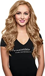 IRRESISTIBLE ME Clip in Hair Extensions Golden Blonde (#14) - 100% Human