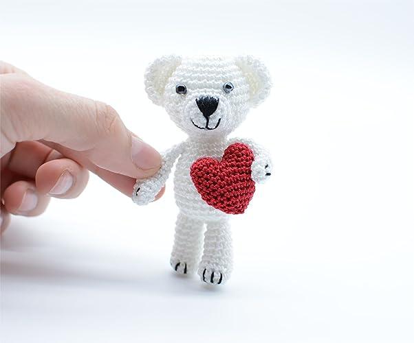 Oso polar, regalo de cumpleaños, Teddy miniatura, día de San ...