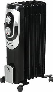 Radiador eléctrico/de aceite El Fuego®, con 7 aletas, 1.500 W,