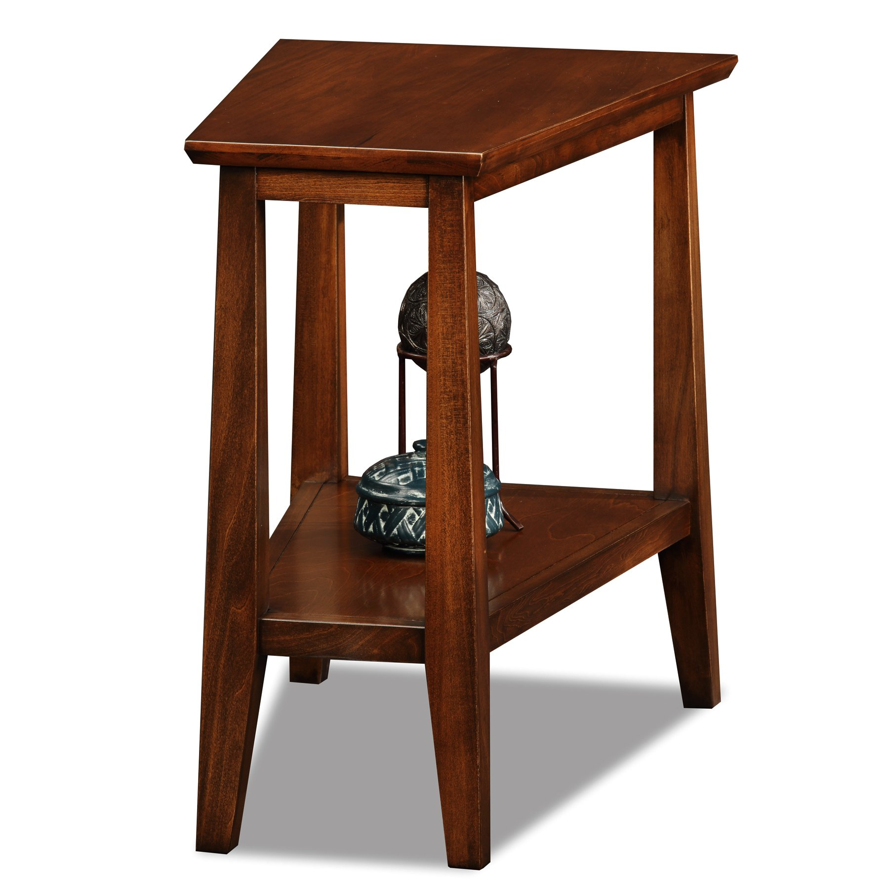 Leick Delton Recliner Wedge End Table by Leick Furniture