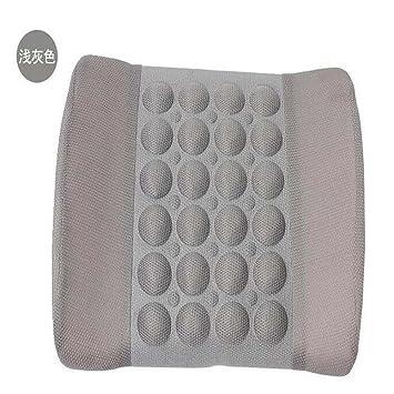 Amazon.com: 12 V eléctrico masaje cojín Lumbar masaje cojín ...