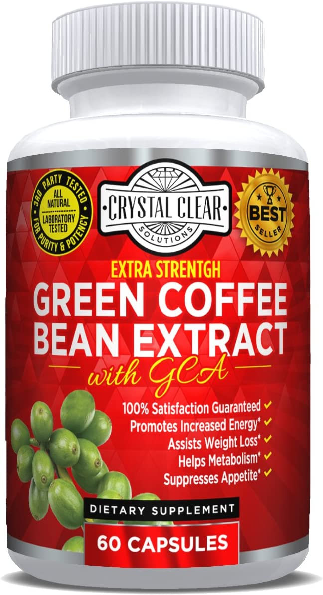 Amazon Com Green Coffee Bean Extract 800mg With Gca Natural