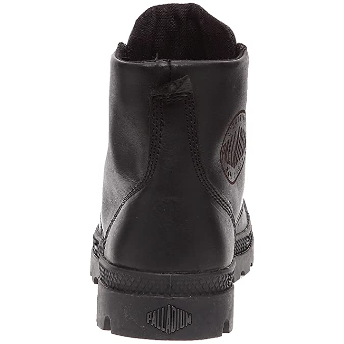 72065-315_Noir - Botas de cuero para hombre, Negro, 40 Palladium