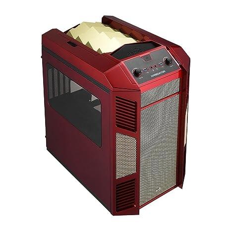 Aerocool Xpredator Cube - Caja de ordenador (Cubo, PC, 1x 200 mm,