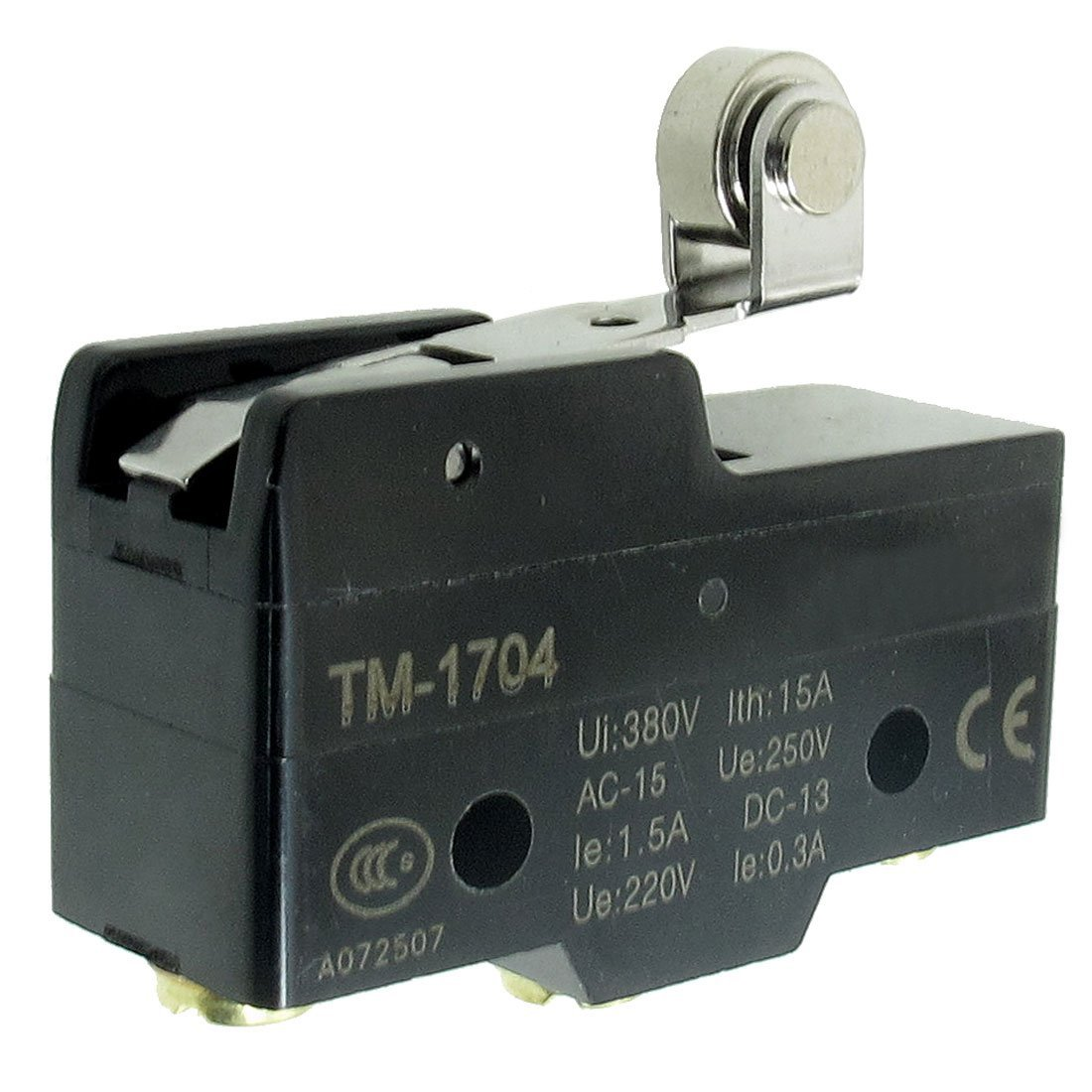 SODIAL(R) TM-1704 Short Hinge Roller Lever Momentary Micro Limit Switch