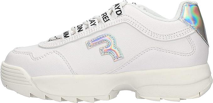 Replay GBS32 - Zapatillas deportivas blancas de niño GBS32.0081.C0001S: Amazon.es: Zapatos y complementos