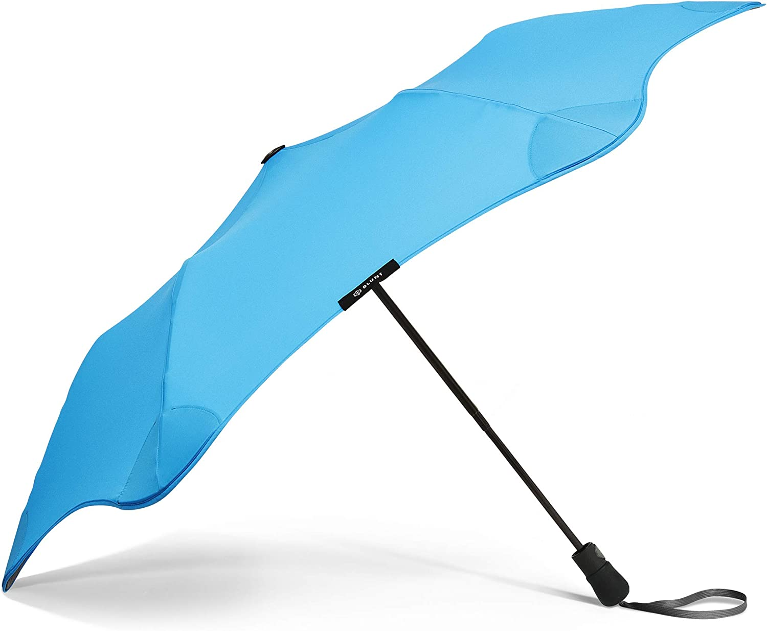 "BLUNT Metro Travel Umbrella with 37/"" Canopy and Wind Resistant Radial Tensioning System"