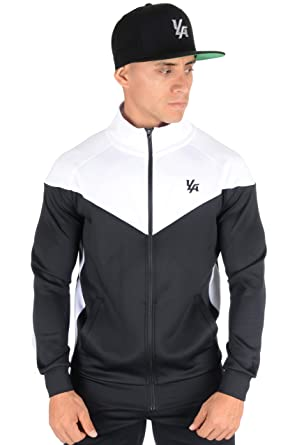 cb7e57aba YoungLA Track Jackets for Men Athletic Running Jogging Gym 515
