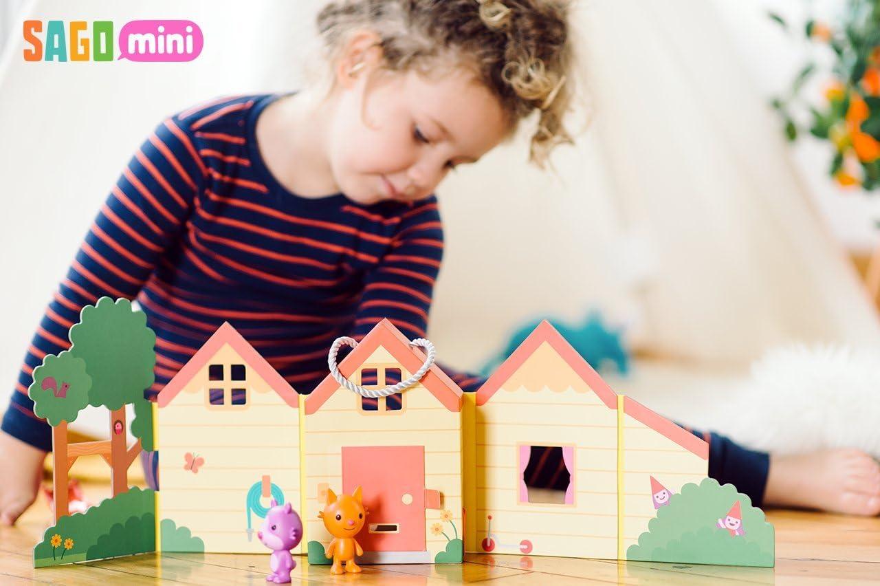 Sago Mini Portable Playset Jinjas House Model Number Sm-Ty-Jinhouse-01 Toy Play