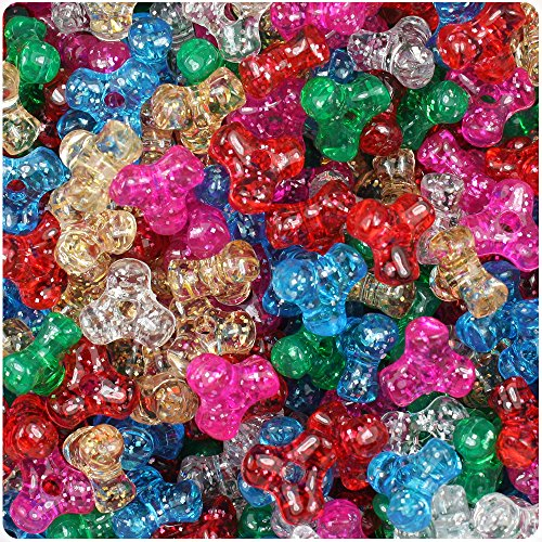 Sparkle 11mm TriBead Craft Beads (600pcs) ()