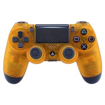 eXtremeRate Carcasa Mando PS4 Funda Delantera Placa Frontal Cubierta Reemplazable Esmerilada para Mando del Playstation 4 PS4 Slim Pro con JDM-040 ...