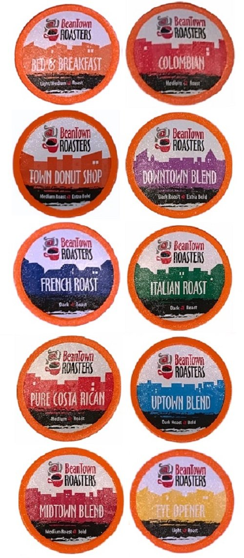 96 count kcup variety pack 16 distinct beantown roasters coffees for keurig amazoncom grocery u0026 gourmet food