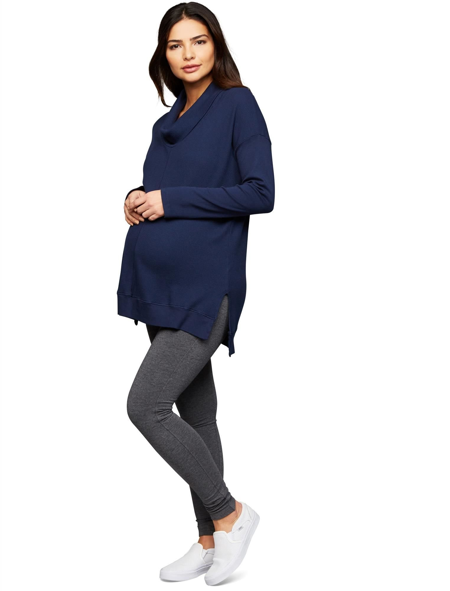 Splendid Secret Fit Belly French Terry Maternity Leggings