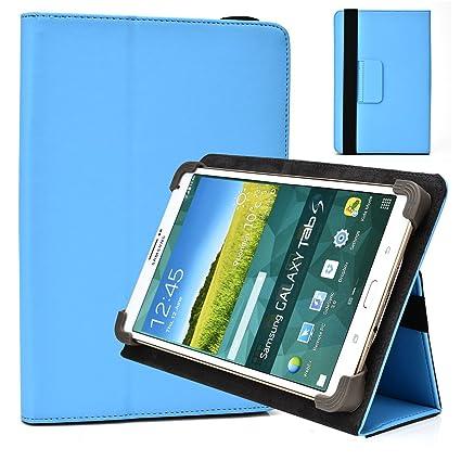 reputable site 6edf7 e8682 Cool Blue Folio Case Fits Samsung Galaxy Tab S2 8.0 7.0 Plus 7.7 Tab ...
