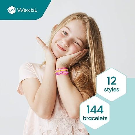 Wexbi Mega Assortment 48 Silicone Bandz Bracelets Mix 4 Dozen