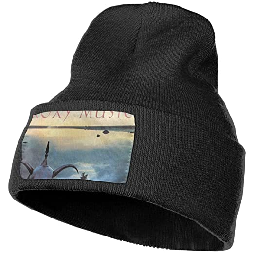 4d270044dc4 Image Unavailable. Image not available for. Color  Ligter Avalon Roxy Music  Knitted Hat Cap Beanie Black