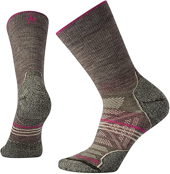 TALLA L. Smartwool Women's Phd Outdoor Light Crew - Calcetines Mujer