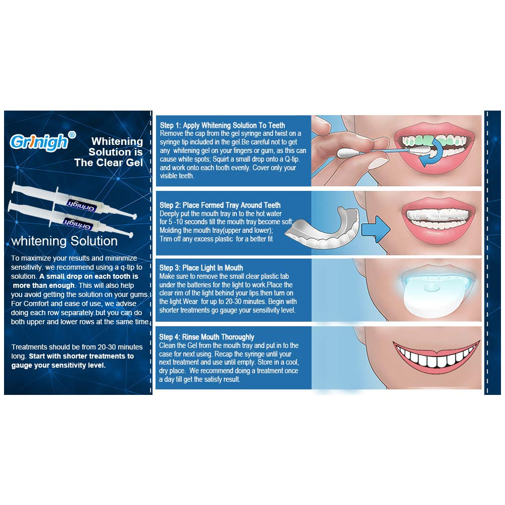Terresa Teeth Whitening Gel Pen Teeth Whitener Hydrogen Peroxide