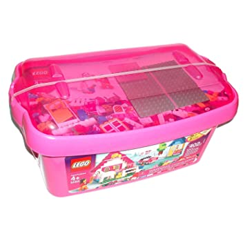 LEGO Bricks U0026 More Large Pink Brick Box