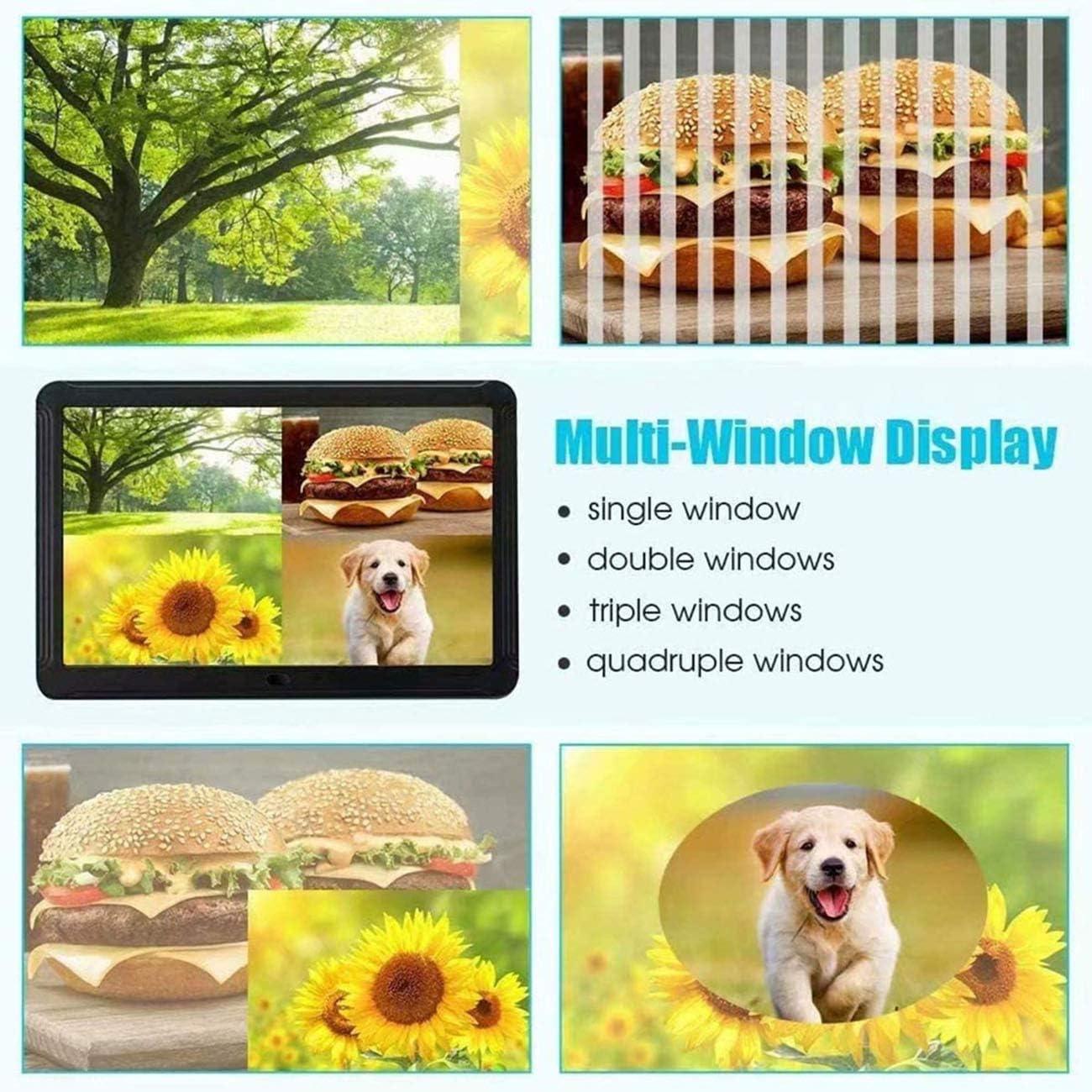 Intelligent Digital Photo Frame with 1920X1080 Ips Screen 8 9 Widescreen Support for Digital Photo Frames with Adjustable Brightness 1080P Video Music Remote 16