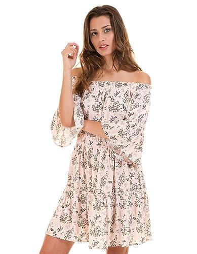 Vila Bare shoulder dress by Clothes