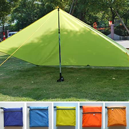LYXMY Toldo para camping, impermeable, ultraligero, para senderismo, pesca, picnic, playa, tienda de campaña, refugio de supervivencia
