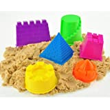 SKYFUN (LABEL) Active Universe Magic Moving Play Sand With Moulded Toys-Multi Color