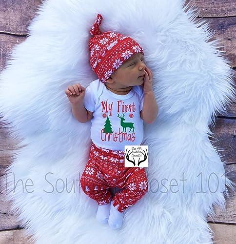 Image Unavailable - Amazon.com: Baby Girl Christmas Outfit,Baby Christmas Outfit, Girl