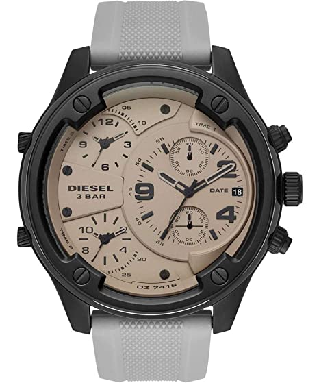 Reloj Diesel Boltdown Chronograph Steel Silicone DZ7416