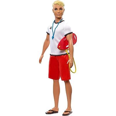 Barbie Careers Ken Lifeguard Doll: Toys & Games