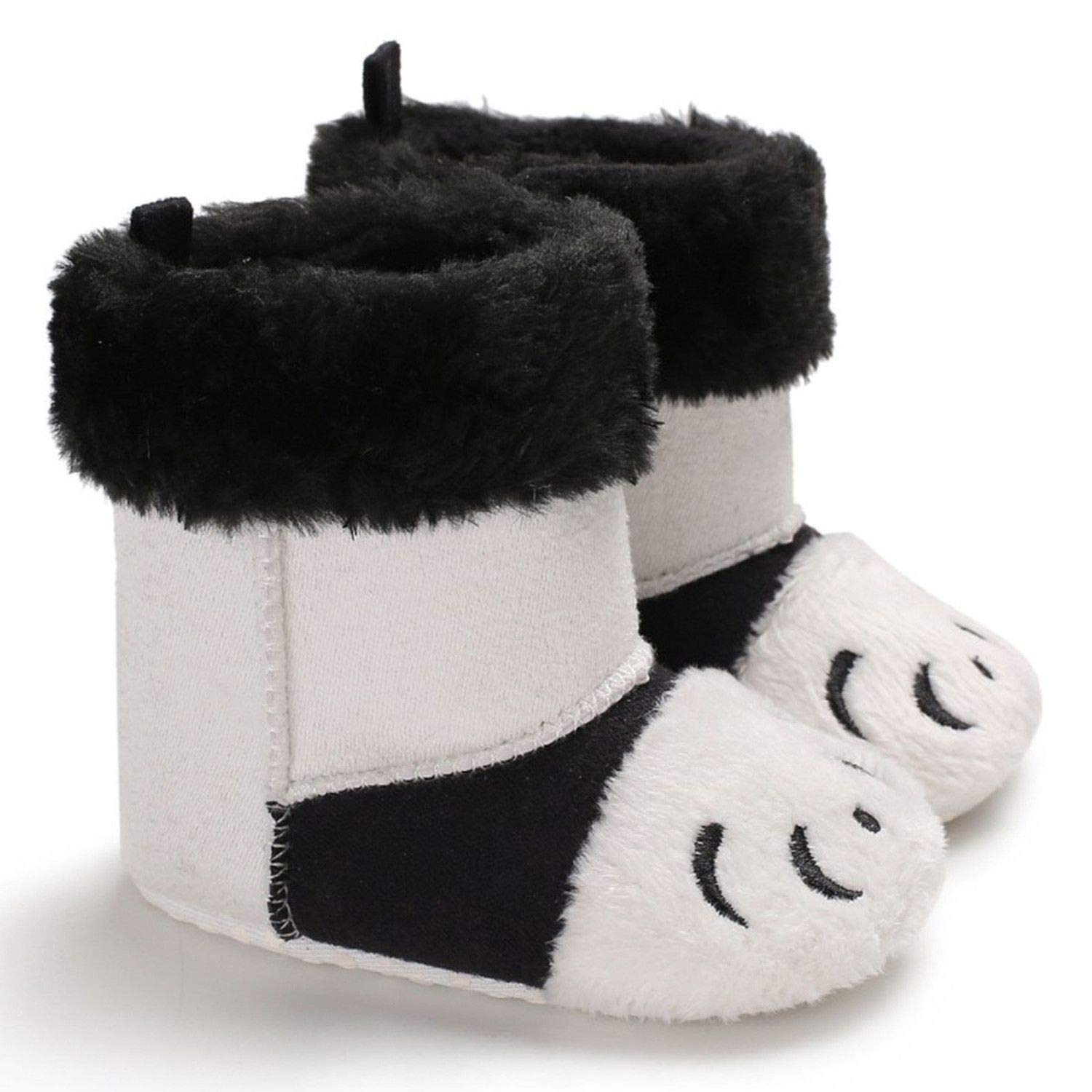 Newborn Baby Boots Winter Super Warm Patch Boot for Baby Girls Boys Soft Bottom Indoor Baby Shoes 0-18M