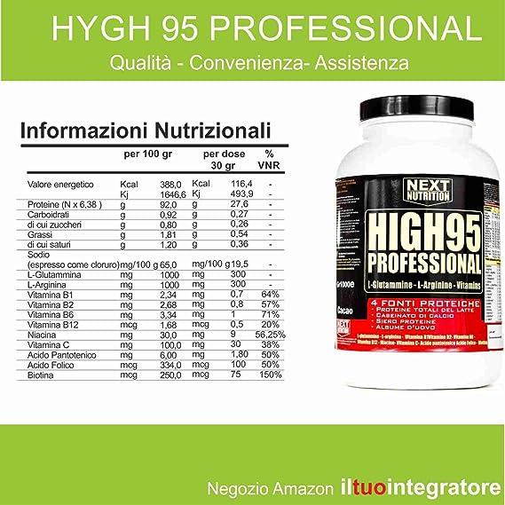 Proteína 90% Gr 1000 Gradual mezcla de proteínas Lanzamiento proteínas de liberación lenta | Fuentes de proteínas (4 - Proteínas totales de leche - ...