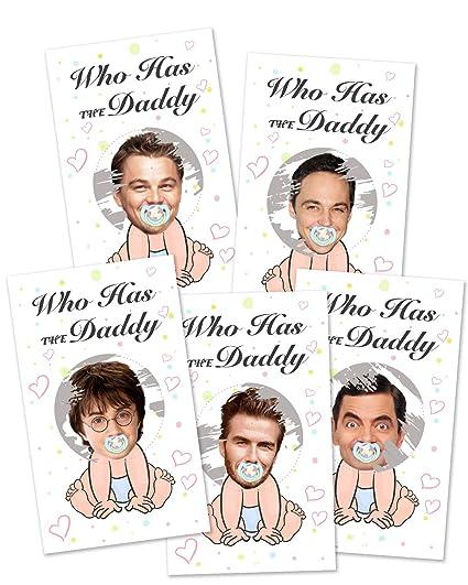 Amazon com: Baby Shower Games - Door Prizes Celebrity Cards Tickets