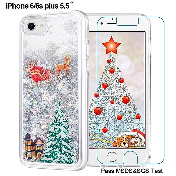 Amazon.com: Maxdara iPhone 6 Plus Christmas Case, iPhone 6S Plus ...