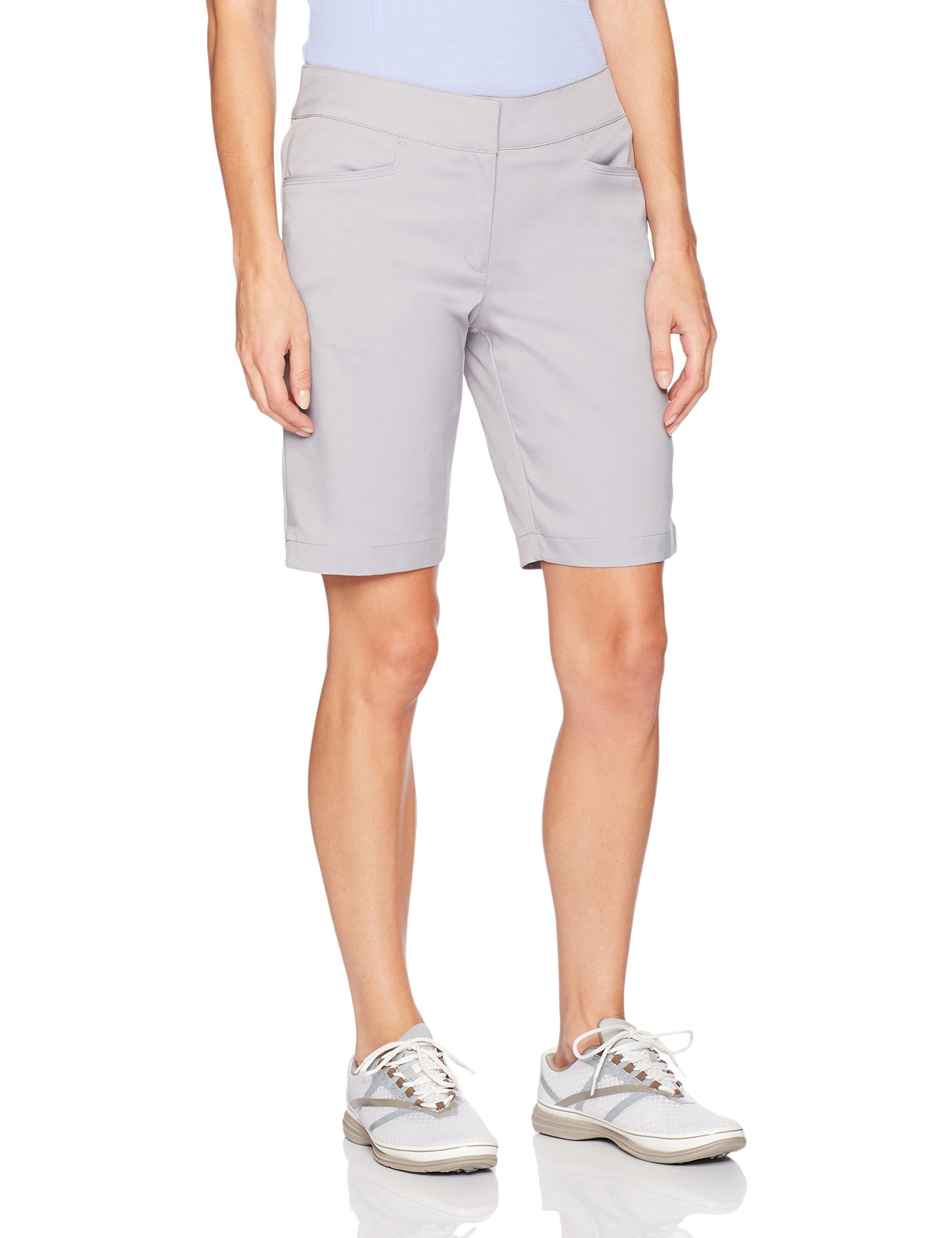 PGA TOUR Women's Plus Size Motionflux 19'' Tech Short with Comfort Stretch, Caviar, 18