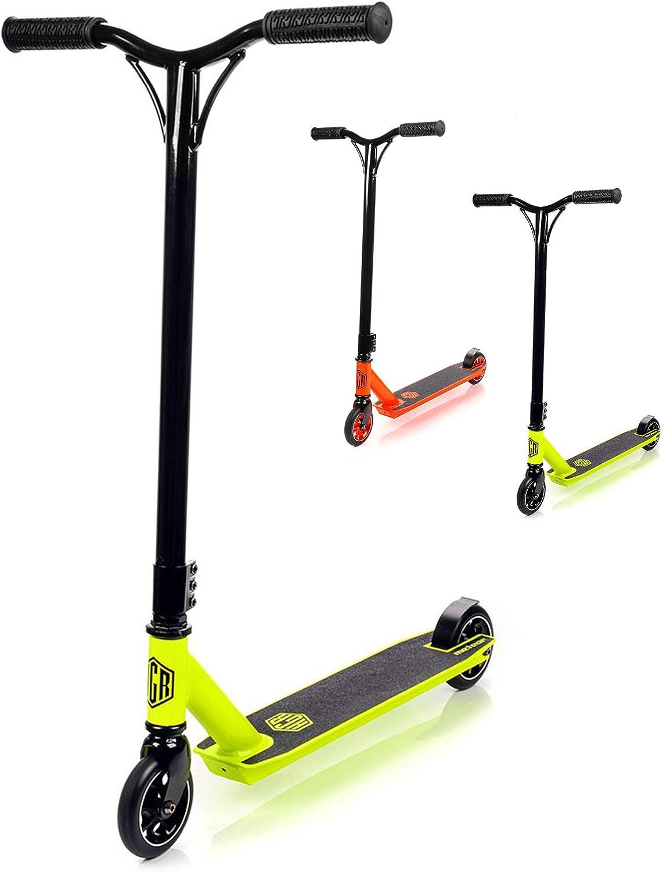 meteor Stunt Scooter Roller ABEC 7 | Tretroller Freestyle | Funscooter bis 100kg | 110mm PU Räder kaufen