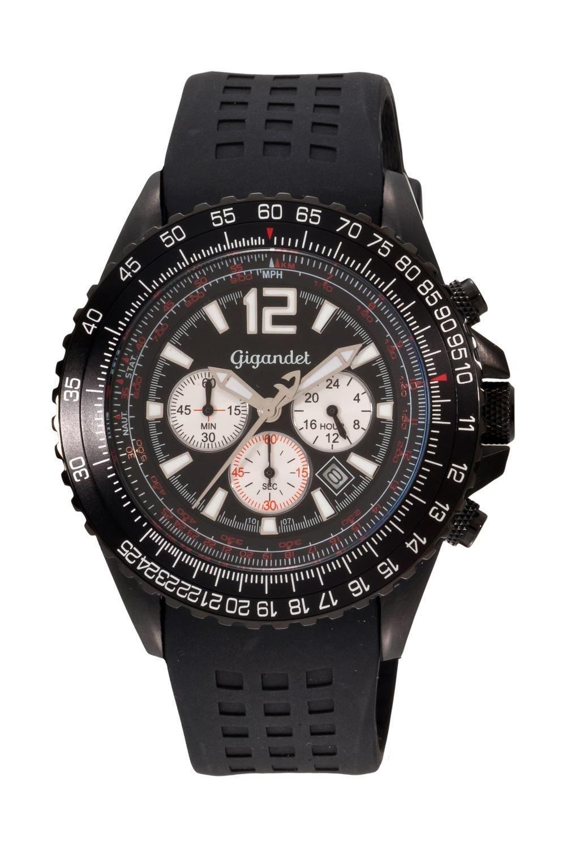Gigandet SUPERSONIC Armbanduhr Chronograph Edelstahl G1-002