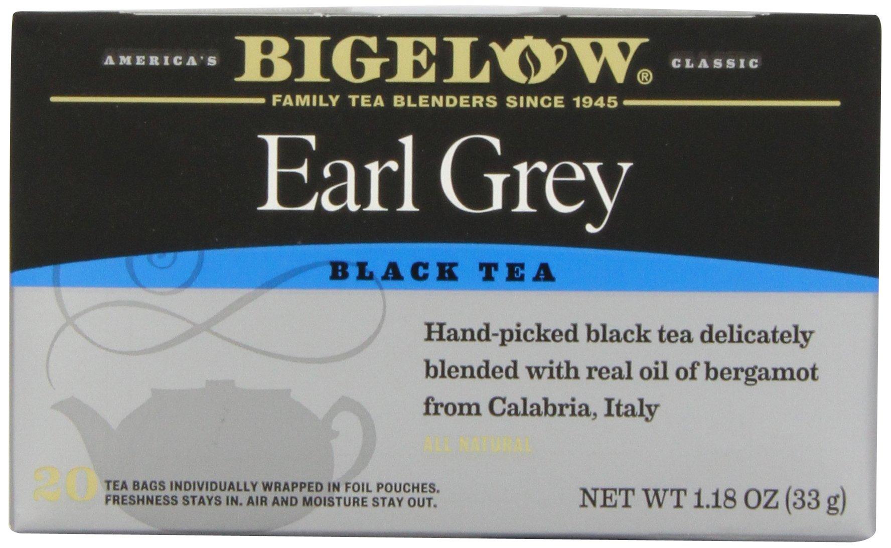 Bigelow Earl Grey Tea, 20 ct