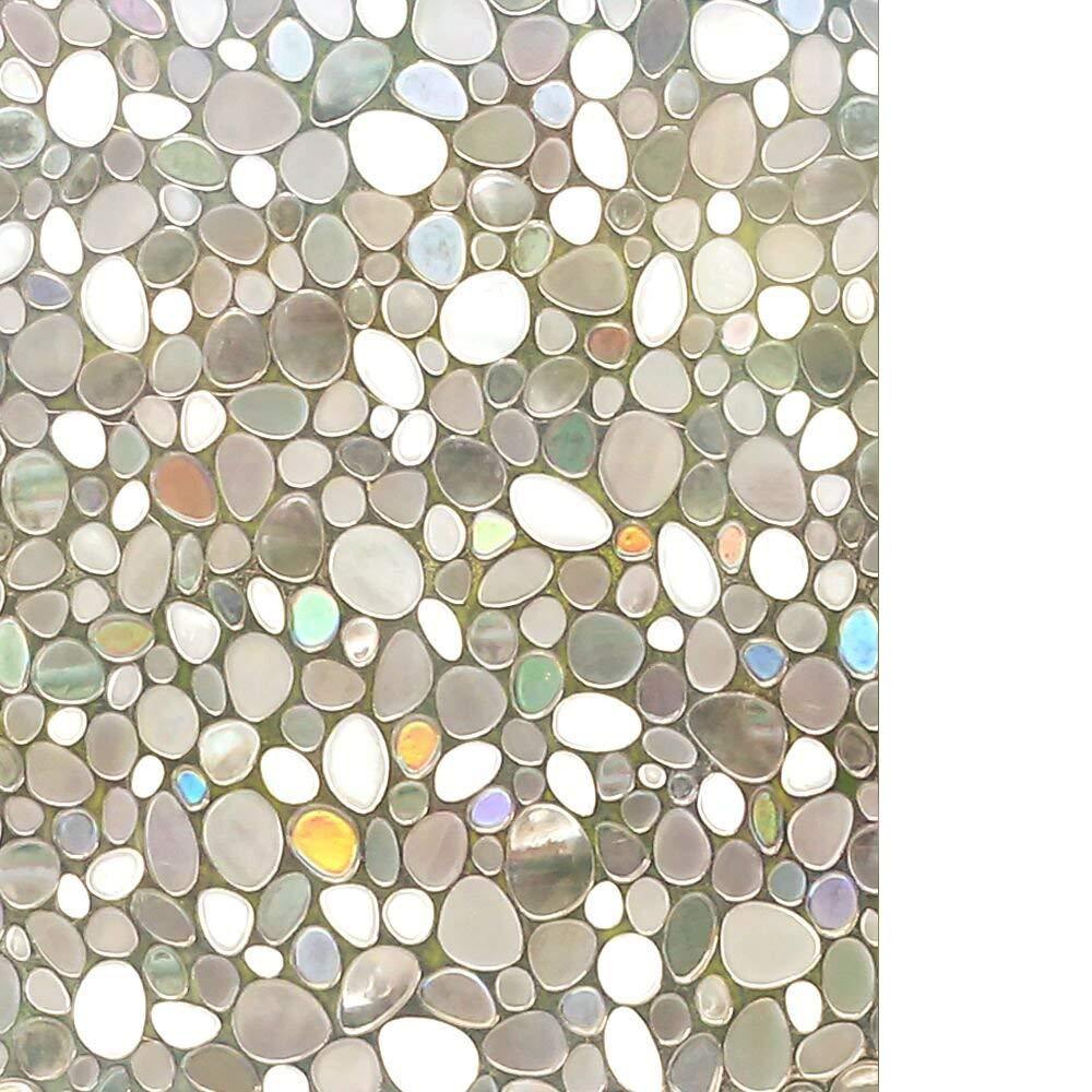 rabbitgoo Pellicola per Finestre-3D Bolle Decorativa, Autoadesive, Anti-UV, Controllo di Calore44.5cm x 200cm GLOBEGOU WZ CO. LTD