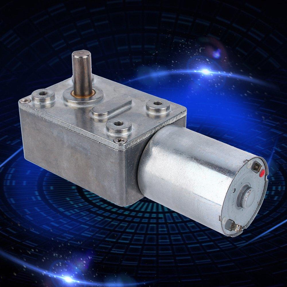 20RPM DC 12V Gear Box Reversible High Torque Turbo Worm Reduction Electric Motor CW//CCW