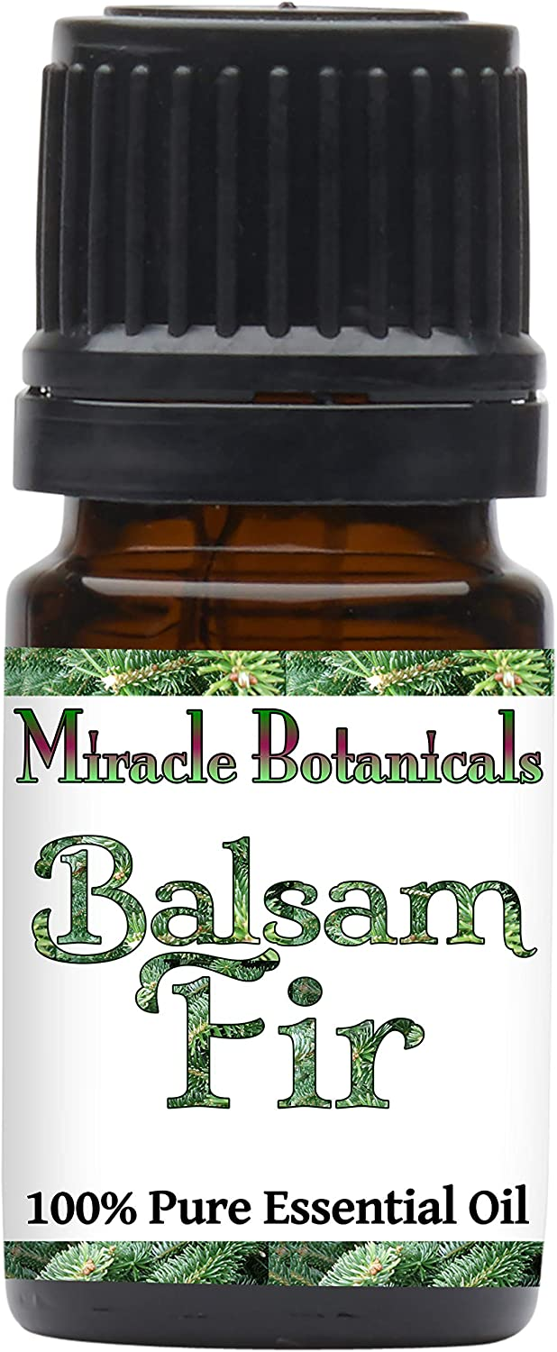 Miracle Botanicals Fir Balsam Essential Oil - 100% Pure Abies Balsamea - Therapeutic Grade - 5ml