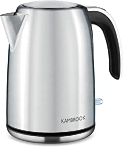 Kambrook Stainless Steel Kettle Stainless Steel Kettle, Brushed Stainless Steel, KKE625BSS