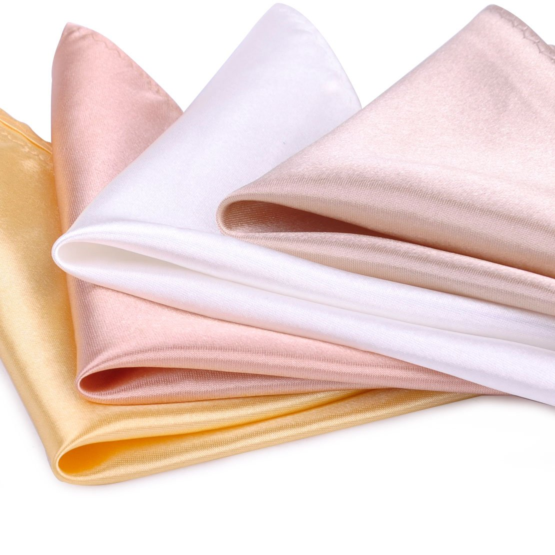 26 Pack Men's Silk Pocket Square Handkerchief Hanky Wedding Party Gift ciciTree by ciciTree (Image #4)