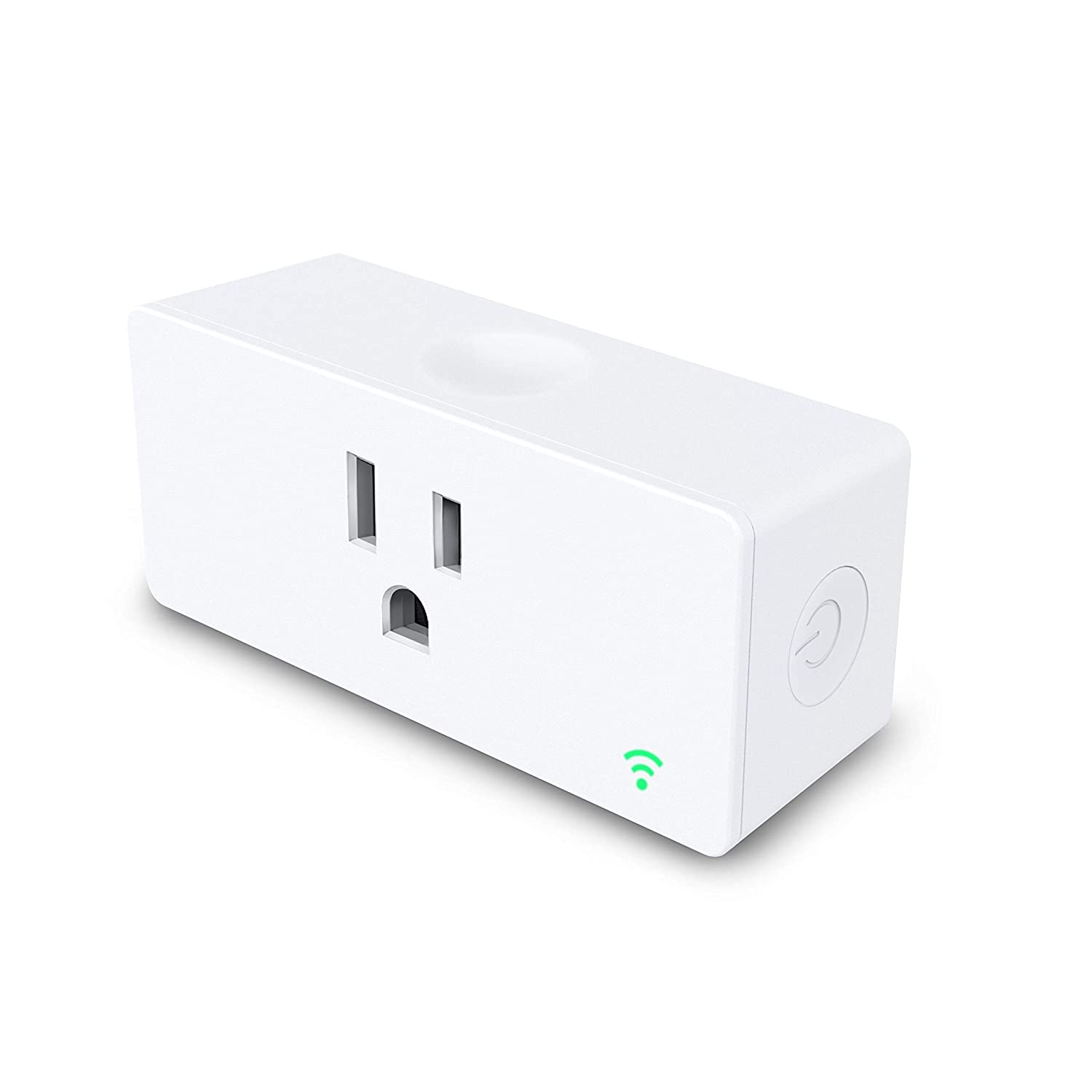 Esicoo Smart Wi-Fi Plug Mini Outlet, Control Your Devices from Anywhere, No Hub Required, Woks with Alexa and Google Assistant