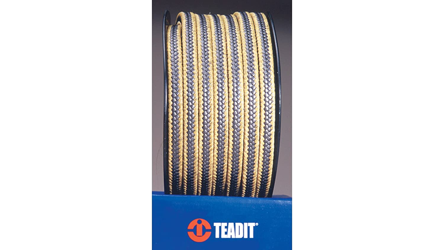 Spool STCC Sterling Seal and Supply 5//8 CS x 2 lb 2017.625x2 2017 Teadit Style Expanded PTFE Graphite with Aramid Corners